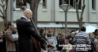 12-15-12 -- Italian flash mob