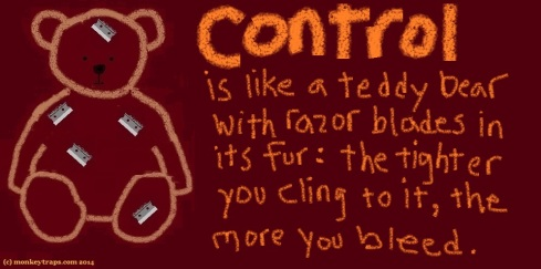 [9] 121. Control is a teddy bear FINALll