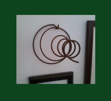 spiral framed 2