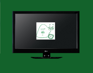 tv 2 green w B&S