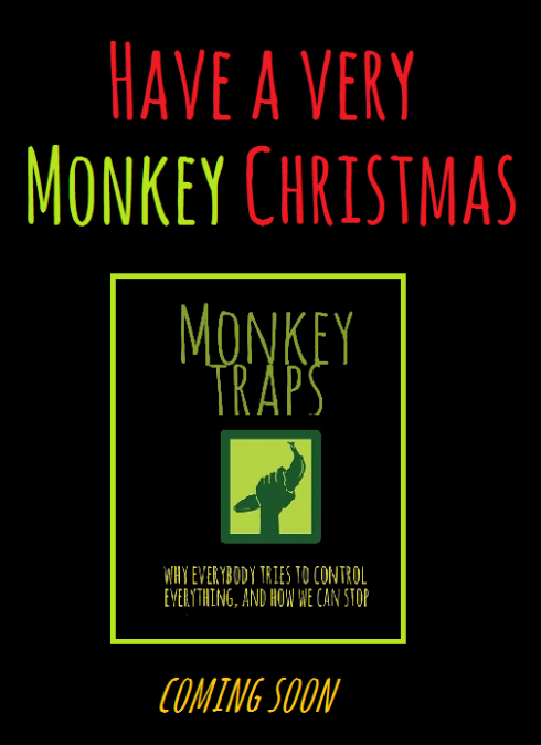 ~ ~ ~ monkey christmas coming soon