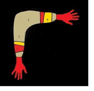~~~boomerang hands