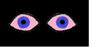 ~~~pink eyes