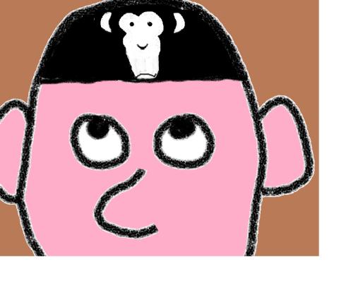~~~Monkeymind framed