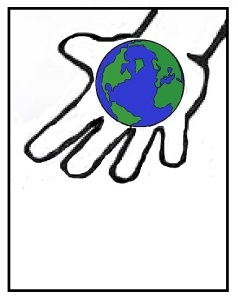 open-hand-globe